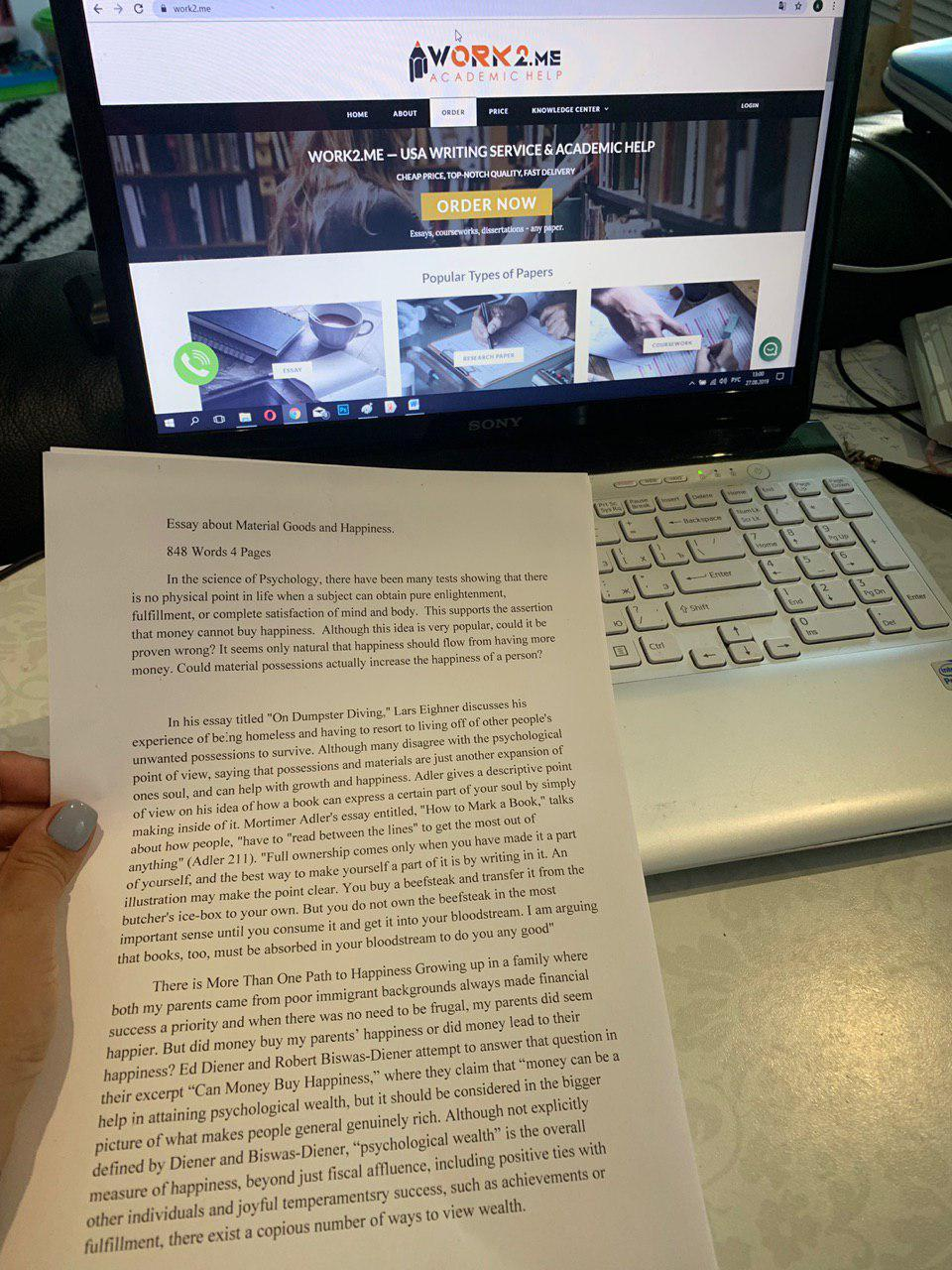 Work2.me Review: The Best Writing Service